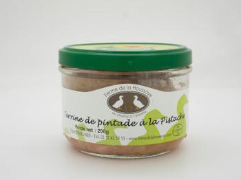 Terrine de pintade à la pistache 200 gr