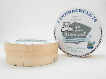 Fromage « camembert le 76 »